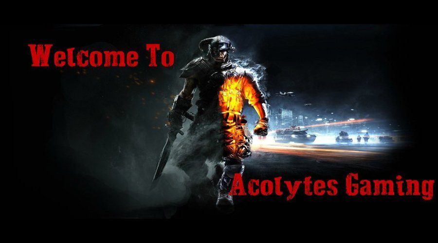 Welcome to Acolytes Gaming